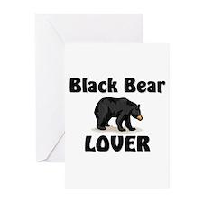 Black Bear Lover Greeting Cards (Pk of 10)