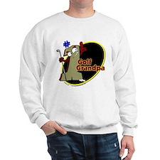 Number 1 Golf Dad Sweatshirt