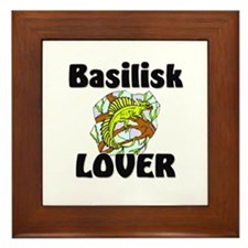 Basilisk Lover Framed Tile