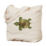 Garden Turtle Tote Bag