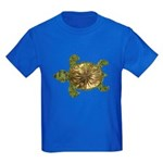 Garden Turtle Kids Dark T-Shirt