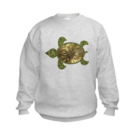 Garden Turtle Kids Sweatshirt