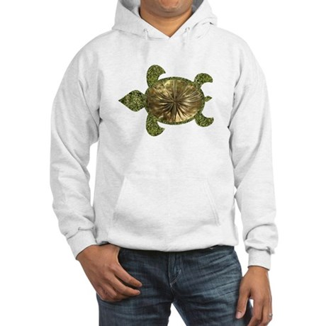 Garden Turtle Hooded Sweatshirt