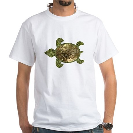 Garden Turtle White T-Shirt