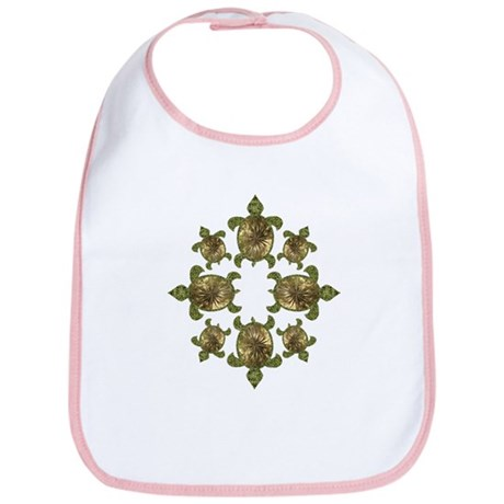 Garden Turtles Bib