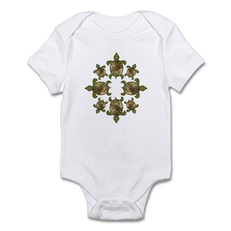 Garden Turtles Infant Bodysuit