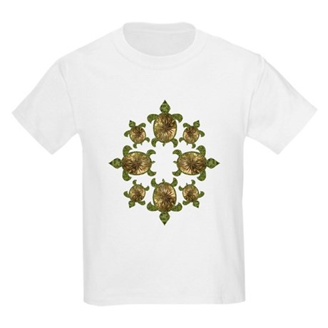 Garden Turtles Kids Light T-Shirt