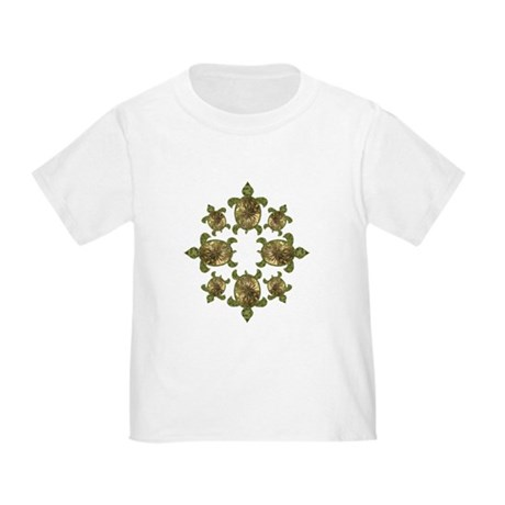 Garden Turtles Toddler T-Shirt
