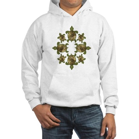 Garden Turtles Hooded Sweatshirt