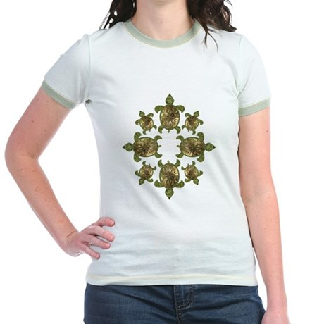 Garden Turtles Jr. Ringer T-Shirt