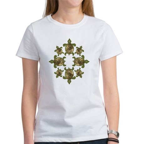 Garden Turtles Women's T-Shirt