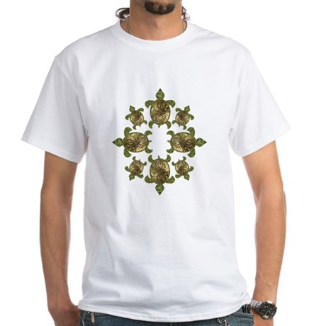 Garden Turtles White T-Shirt