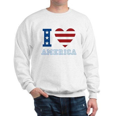 I Love America Sweatshirt