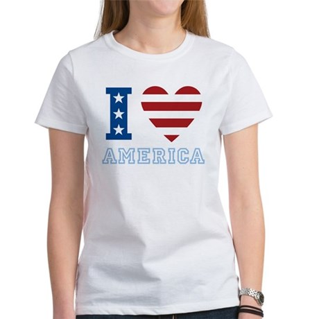 I Love America Women's T-Shirt