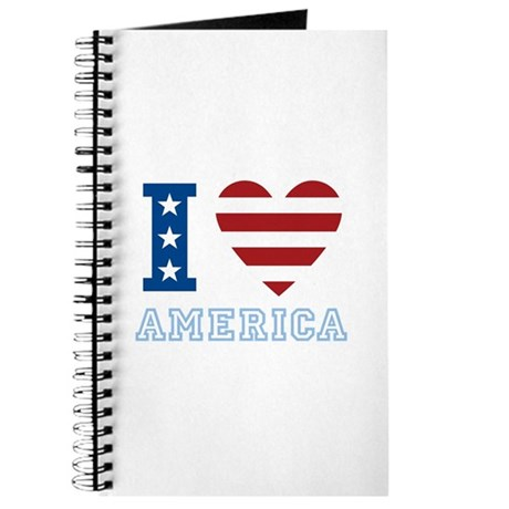 I Love America Journal