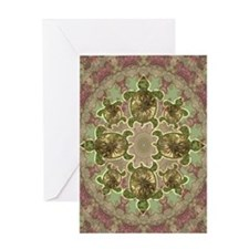 Garden Turtles Greeting Card