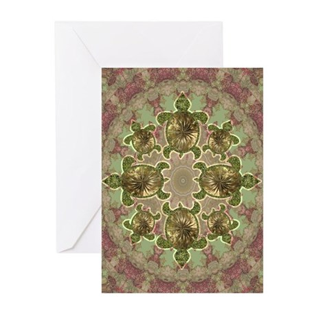 Garden Turtles Greeting Cards (Pk of 10)
