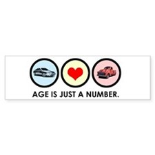 Cars Love Bumper Bumper Sticker