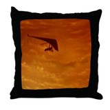 Cute In flight Throw Pillow