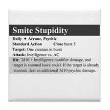SmiteStupidity Tile Coaster