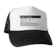 SmiteStupidity Trucker Hat