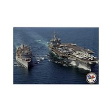 USS Enterprise CVN-65 Rectangle Magnet (100 pack)