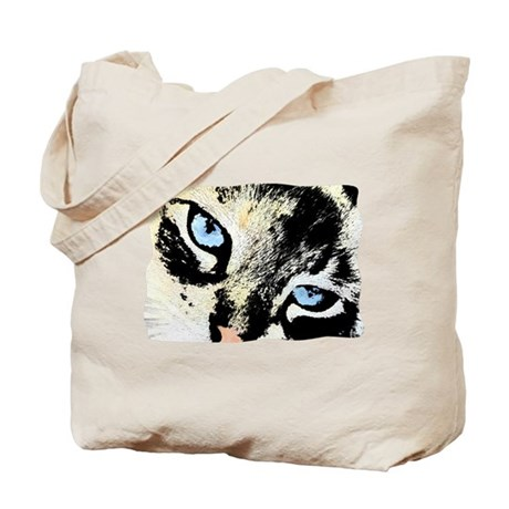 Ink Cat Tote Bag