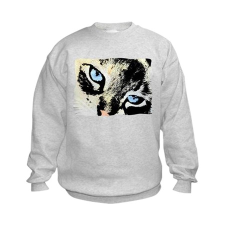 Ink Cat Kids Sweatshirt