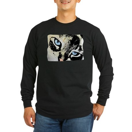 Ink Cat Long Sleeve Dark T-Shirt