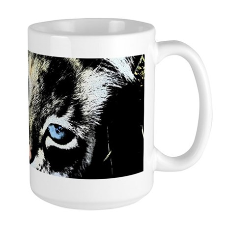 Ink Cat Large Mug