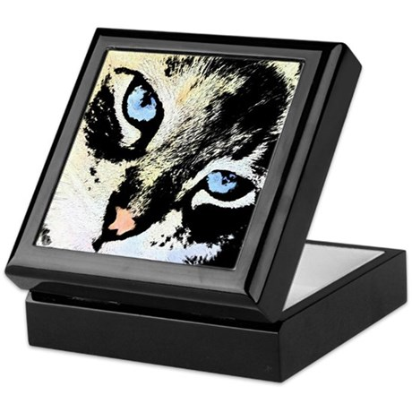 Ink Cat Keepsake Box