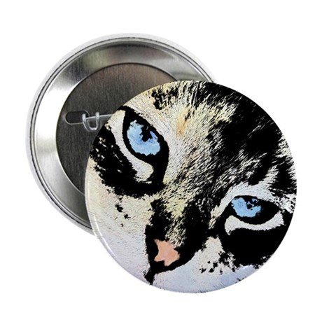 "Ink Cat 2.25"" Button"