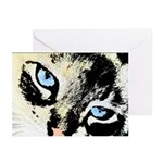 Ink Cat Greeting Cards (Pk of 20)