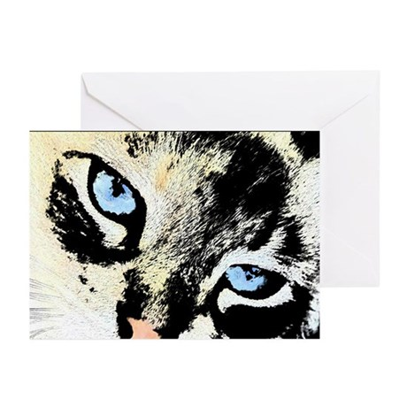 Ink Cat Greeting Cards (Pk of 10)