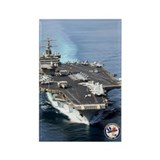 USS Enterprise CVN-65 Rectangle Magnet
