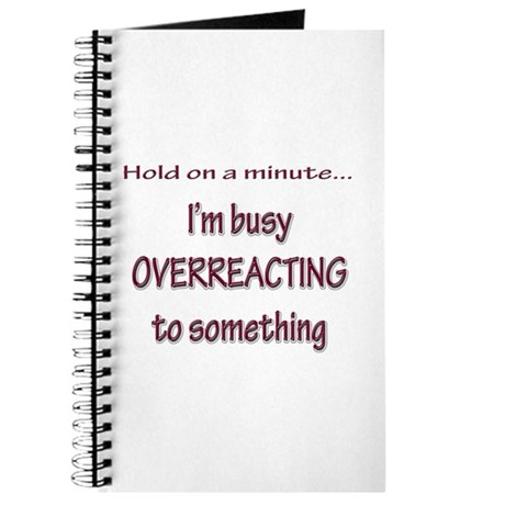 Overreacting Journal