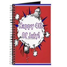 Happy 4th Rocket Blast Journal