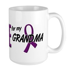 I Wear Purple For My Grandma 10 Mug