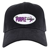 I Wear Purple For My Grandma 10 Baseball Cap