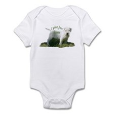 dogo argentino kisses Infant Bodysuit