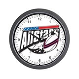 Rugby All Stars Wall Clock