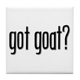 Got Goat? Tile Coaster