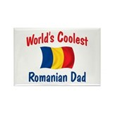 Coolest Romanian Dad Rectangle Magnet