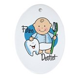 Future Dentist Oval Ornament