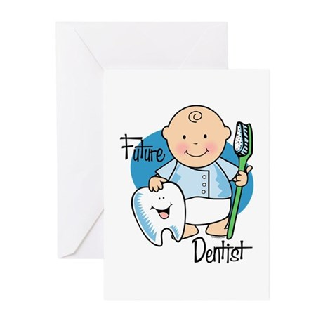 Future Dentist Greeting Cards (Pk of 10)