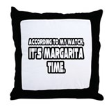 &quot;It's Margarita Time&quot; Throw Pillow