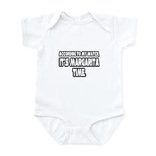 """""""It's Margarita Time"""" Infant Bodysuit"""