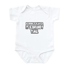 """It's Brandy Time"" Infant Bodysuit"