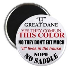 Great Dane Walking Answers Magnet