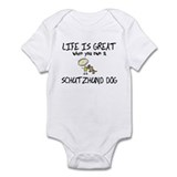 Life is Great Schutzhund Onesie